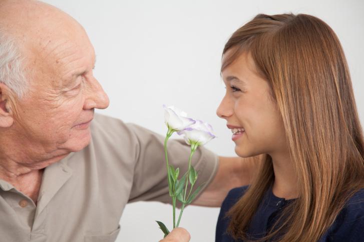 Abuelos, su relación con la familia
