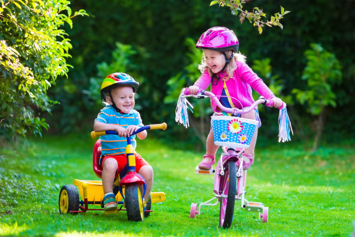 Vehículos montables, juguetes de rueda y pedal