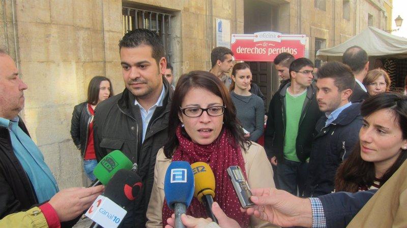 Adriana lastra lleva al font n la oficina de derechos perdidos for Oficina objetos perdidos barcelona