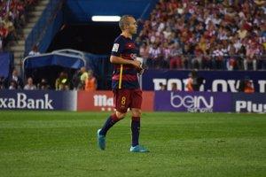 Iniesta, Piqué, Ramos i Morata, nominats al millor onze anual de la UEFA (EUROPA PRESS)