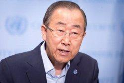 Ban Ki-moon demana que s'aclareixin els fets de l'enderrocament de l'avió militar rus (EUROPAPRESS)