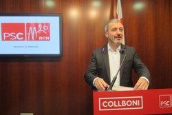 Collboni (PSC) demana negociar Pressupostos i que Colau no els prorrogui i governi amb els de Trias (EUROPA PRESS)