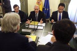 Rajoy dóna la benvinguda a UPyD, UDC, C's i PAR al pacte antijihadista (JAVIER LIZÓN/POOL)
