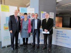 El Gran Recapte comença la recollida solidària de fins a 5.000 tones d'aliments (EUROPA PRESS)