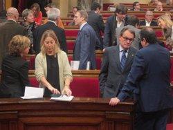 El Parlament al·lega al TC que la resolució sobiranista és