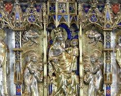 Acaben les tasques de restauració de l'orfebreria de la Catedral de Girona (PAU MAJO I CODINA/MINISTERIO DE CULTURA)