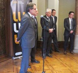 Els presidents Mas i Armengol obren l'Any Llull aquest dilluns a Barcelona (EUROPA PRESS)