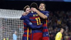 Neymar i Luis Suárez s'allunyen amb el Pichichi (FCB)
