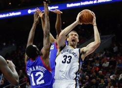 Memphis condemna els Sixers al pitjor començament històric de l'NBA (USA TODAY SPORTS / REUTERS)