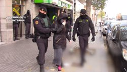 La dona que volia anar a Síria amb la jihadista de Granollers va ser detinguda a l'octubre (GUARDIA CIVIL)