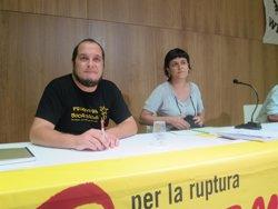 La CUP aconsegueix 32.600 euros amb micromecenatge per editar l''Atles de la corrupció' (EUROPA PRESS)