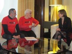 Entitats del VIH demanen a Forcadell lideratge en salut pública i contra l'estigma (EUROPA PRESS)