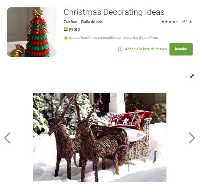 Cinco aplicaciones para decorar tu casa en navidad for Aplicacion para decorar tu casa
