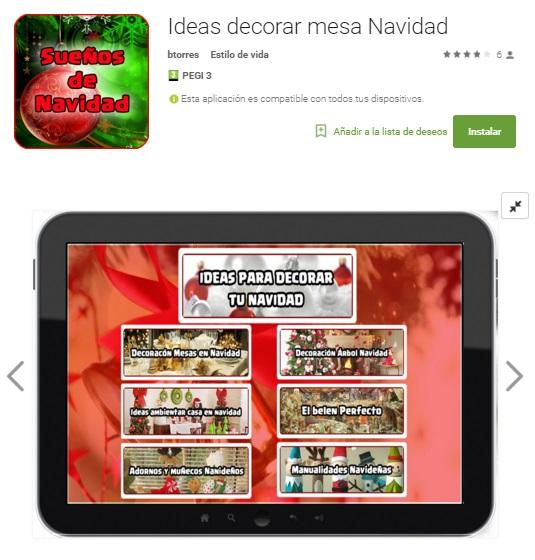 Cinco aplicaciones para decorar tu casa en navidad for Aplicaciones para decorar tu casa gratis