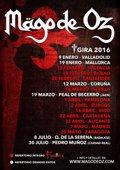 Primeras fechas de la gira española 2016 de Mago de Oz
