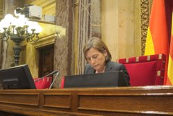 Forcadell defensa que JxSí i CUP demanin al Parlament tres lleis per a la independència (EUROPA PRESS)