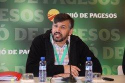 Unió de Pagesos reelegeix Joan Caball com a coordinador nacional (EUROPA PRESS)