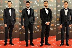 Elegancia masculina en los Goya 2016: todos los looks de ellos