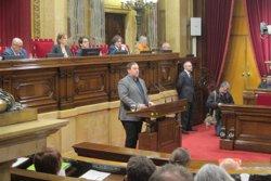 Junqueras i els consellers compareixeran al Parlament a partir de dilluns (EUROPA PRESS)