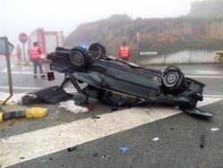 El cap de setmana es tanca amb 12 morts a les carreteres, sis d'ells motoristes (EP/GOBIERNO DE NAVARRA)