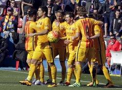 Suárez, amb 20 gols, Pichichi en solitari (HEINO KALIS / REUTERS)