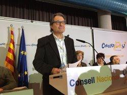 Artur Mas avisa la CUP que l'acord d'investidura obliga a donar suport als Pressupostos (EUROPA PRESS)