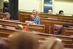 Rosa Díez anuncia la seva baixa d'UPYD (EUROPA PRESS)