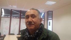 Álvarez (UGT) exigeix buscar solucions als problemes socials i deixar de parlar del sindicat (EUROPA PRESS)