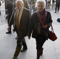 Jordi Pujol i Marta Ferrusola declaren aquest dimecres a l'Audiència Nacional (ALBERT GEA / REUTERS)