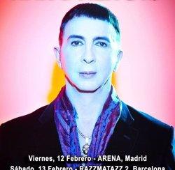 Marc Almond actua aquesta setmana a Madrid i Barcelona (MARC ALMOND)