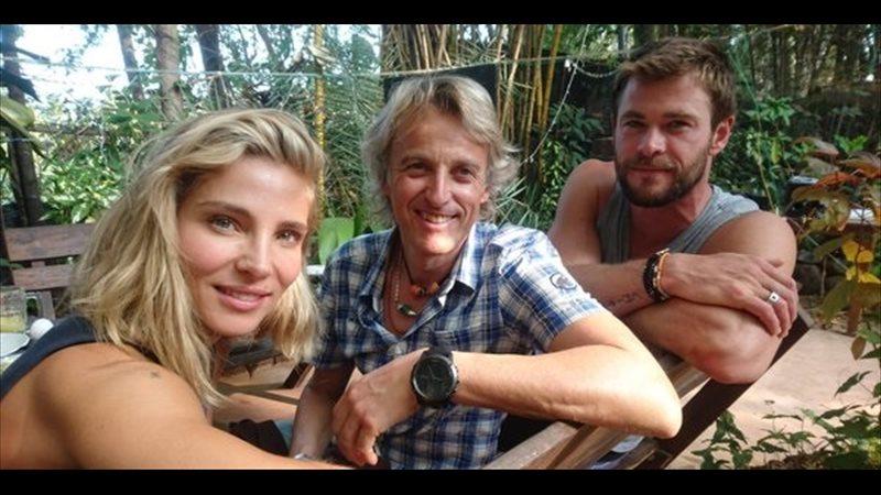 Chris Hemsworth se suma al reto de Elsa Pataky en 'Planeta Calleja'