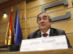 Rosell diu que derogar la reforma laboral podria afectar les decisions empresarials d'ocupació d'aquí a uns mesos (EUROPA PRESS)