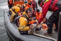 OTAN envia vaixells a l'Egeu per frenar flux de refugiats i tallar el tràfic de persones (WILL ROSE/MSF)