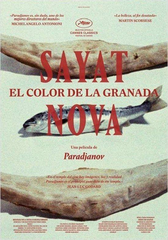 Foto: El Cine Club de la Filmoteca proyecta 'Sayat Nova. El color de la granada' (FILMOTECA)
