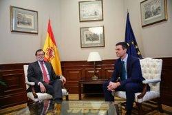 Finalitza la reunió entre Rajoy i Sánchez, després de mitja hora (TWITTER DE RAJOY)