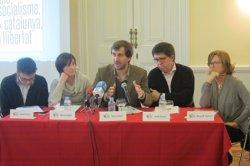 El conseller Comín es reuneix amb alcaldes del Baix Llobregat per l'Hospital de Viladecans (EUROPA PRESS)