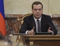 Medvédev nega rotundament que Rússia estigui bombardejant civils sirians (RIA NOVOSTI / REUTERS)