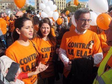 """Arrimadas critica que Puigdemont tingui """"l'obsessió que catalans deixin de ser espanyols"""" (EUROPA PRESS)"""