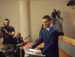Pedro Sánchez (PSOE) expressa el seu condol per la mort de Muriel Casals (TWITTER DEL PSOE)