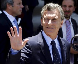 Macri cenará con los Rolling Stones para cerrar su visita en Argentina (MARCOS BRINDICCI / REUTERS)
