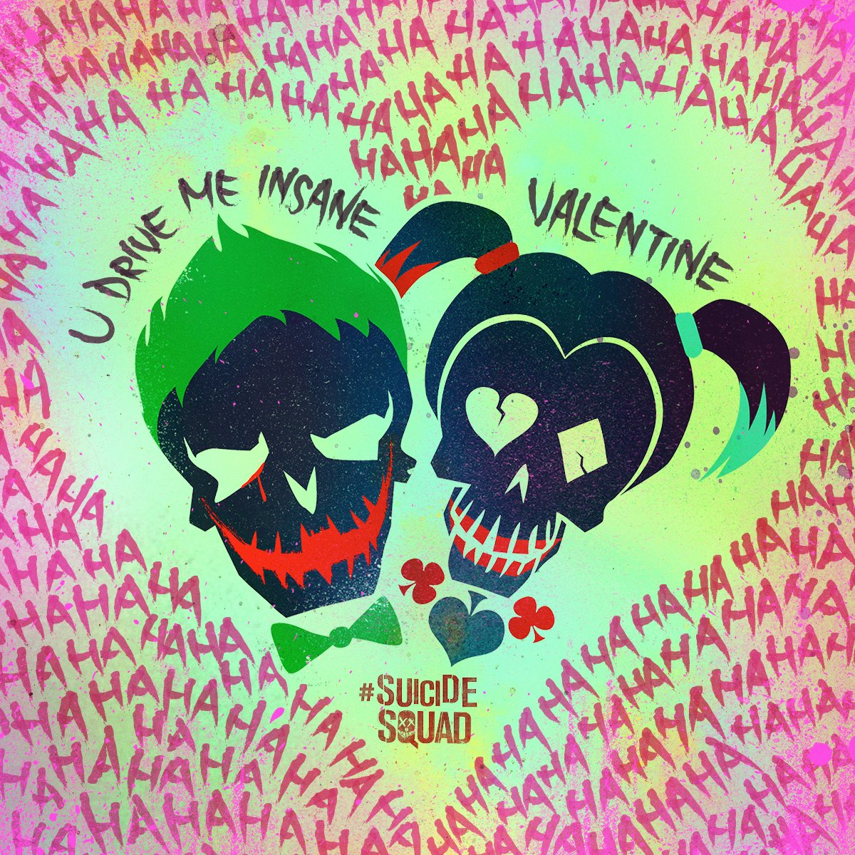 Suicide squad as celebraron joker y harley quinn san for U and me pictures