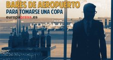 Estos son los mejores bares de aeropuerto para tomar una copa