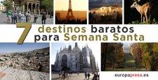 7 destinos baratos para tus viajes en Semana Santa 2016
