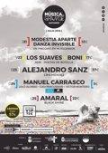 Alejandro Sanz, Amaral, Los Suaves y Manuel Carrasco, en el festival Música en Grande de Santander
