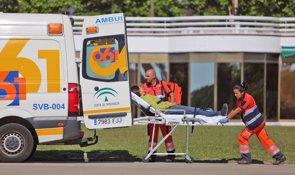 Los desplazamientos del personal sanitario, cuestión de riesgo (EUROPA PRESS/JUNTA ANDALUCÍA/JAVIER RAMOS)