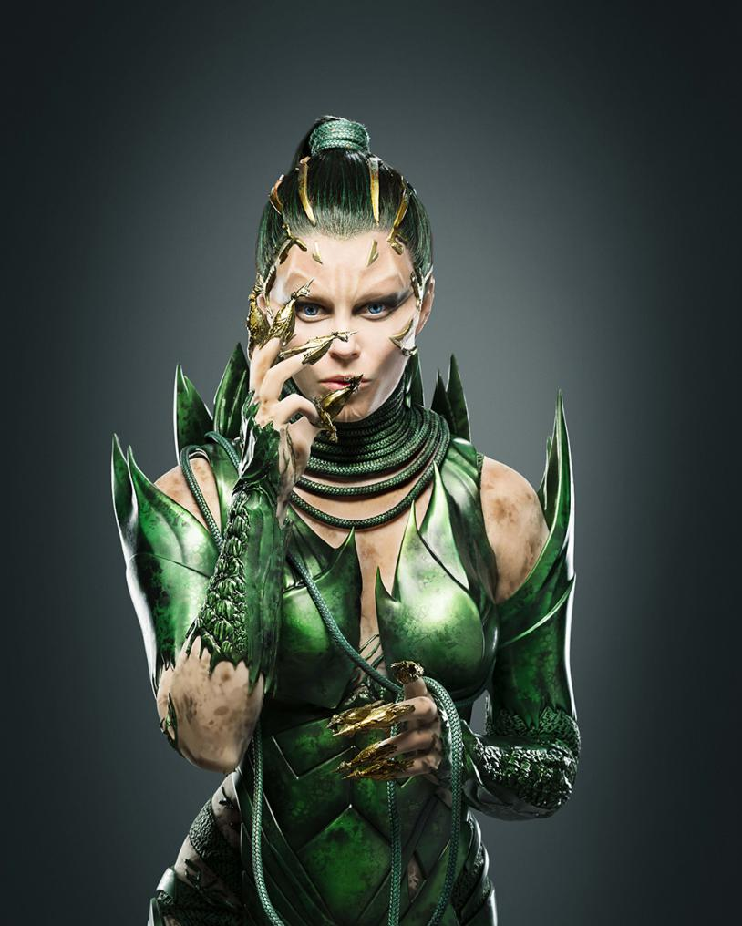 Rita Repulsa en Power Rangers  - Elizabeth Banks
