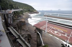 Dos morts a Río de Janeiro en ensorrar-se un carril bici (REUTERS)