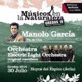 Manolo García protagonizará la undécima edición de Músicos en la Naturaleza