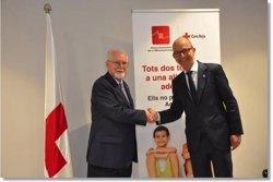 Creu Roja i el Barça porten al camp més de 4.000 socis en cinc temporades (CREU ROJA)