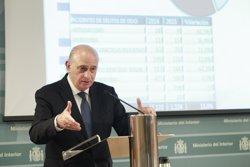 Fernández Díaz rebrà al Ministeri el conseller d'Interior dijous (EUROPA PRESS)